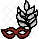 Mask Carnival Costume Icon