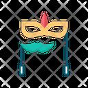 Party Mask Carnival Mask Masquerade Mask Icon