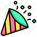 Party Pop Confetti Icon