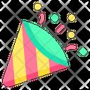 Party Pop Confetti Icon