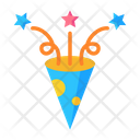 Party Popper Confetti Celebration Icon