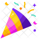 Party Popper Fireworks Congratulation Icon