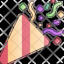 Party Popper Confetti Popper Icon
