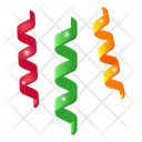 Celebrations Party Decoration Party Ribbons Icon