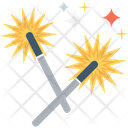 Firecrackers Firework Party Celebration Icon