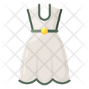 Frock Woman Dress Attire Icon