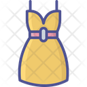 Cloth Dress Design Ladies Dress Icon