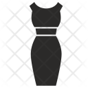 Party Wear Dress Icon