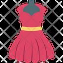 Party Wear Wedding Dress Wedding Gown Icon