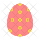 Egg Easter Decorated Icon
