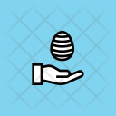 Paschal Egg Easter Icon
