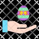 Paschal Egg Icon