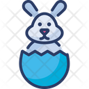 Paschal Rabbit Icon