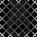 Paschal Rabbit Icon