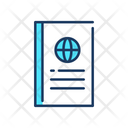 Pasport International Travelling Travelling Passport Icon