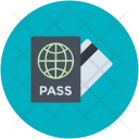 Pass Ticket Visa Icon