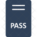 Pass Ticket Vip Card Icon