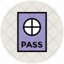 Pass Passport Visa Icon