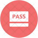 Pass Ticket Vip Icon