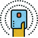 Touch Card Signal Icon