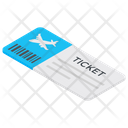 Ticket Pass Voucher Icon