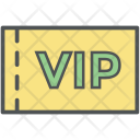 Pass Party Card Icon