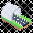 Train Tunnel Tunnel Underpass Icon