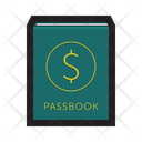 Passbook Account Deposit Icon