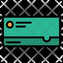 Passbook Account Details Deposit Icon