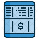 Passbook Money Account Icon