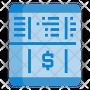 Passbook Money Account Icon