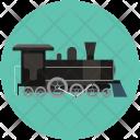 Passenger Train Locomotive Icon