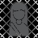 Passenger Human Taxi Icon