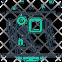 Passenger Wayfaring Peregrination Icon