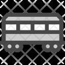Passenger Train Transport Icon