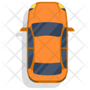 Passenger Car Transport Cab Icon