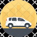 Automobile Passenger Car Icon