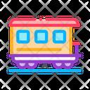 Passenger Railway Carriage Icon