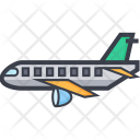 Passenger Plane Airplane Icon