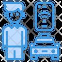 Passenger Taxi App Icon
