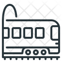 Passenger Train Railroad Railway Icon