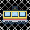 Passenger Railway Carri Icon