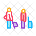 Passengers Baggage Luggage Icon