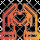 Love Care Support Icon