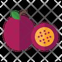 Passion Organic Vegetarian Icon