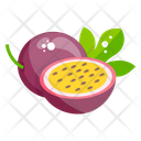 Passion Fruit Fruit Healthy Food Icon