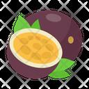 Passion Fruit Fruit Diet Icon