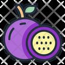 Passion Fruit Fruit Food Icon