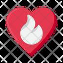 Passionate Heart Icon