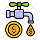 Passive Income Financial Leakage Money Flow Icon
